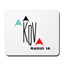 KQV Pittsburgh 1958 -  Mousepad