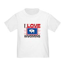 I Love Wyoming T