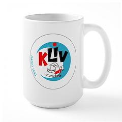 KLIV San Jose 1965 - Large Mug
