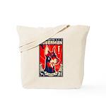 Obey the Doberman! Patriotism Tote Bag
