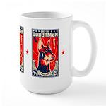 Obey the Doberman! Patriotism Large Mug