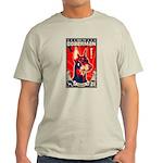 Obey the Doberman! 1926 Ash Grey T-Shirt