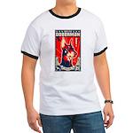Obey the Doberman! Patriotism Ringer T