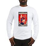 Obey the Doberman! 21 Long Sleeve T-Shirt