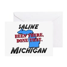 saline michigan - been there, done that Greeting C