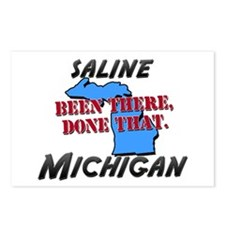 saline michigan - been there, done that Postcards