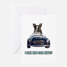 LOL Boston Terrier Greeting Card