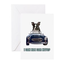 LOL Boston Terrier Greeting Cards (Pk of 20)