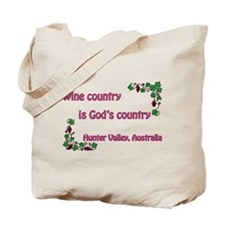 Wine country God's country Tote Bag
