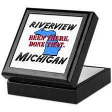 riverview michigan - been there, done that Keepsak