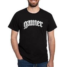 gamer urban style Black T-Shirt