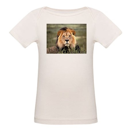 Male African lion Organic Baby T-Shirt
