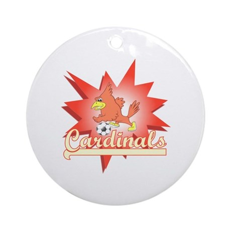 Cardinals Ornament (Round)