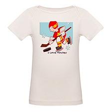 I Love Hockey Tee