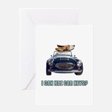 LOL Basset Hound Greeting Card