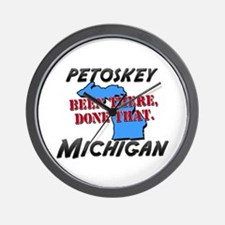 petoskey michigan - been there, done that Wall Clo