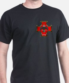 Masonic 32nd Degree Black T-Shirt