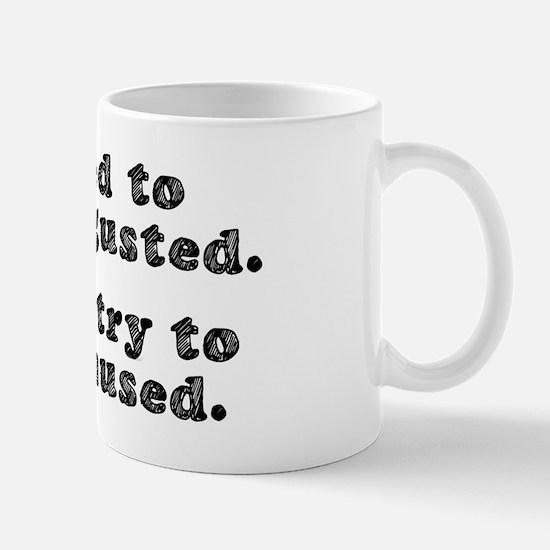 DISGUSTED AMUSED Mug