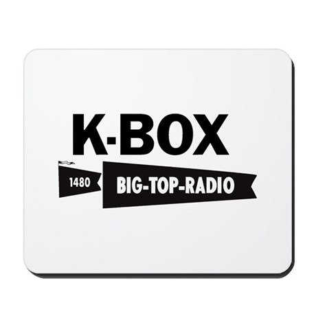 KBOX Dallas 1964 - Mousepad