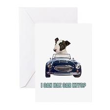 LOL Bull Terrier Greeting Cards (Pk of 20)