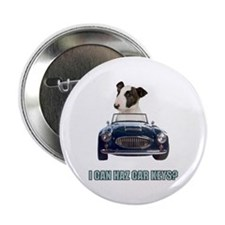 "LOL Bull Terrier 2.25"" Button"