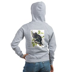 Audubon Porcupine Animal (Back) Zip Hoodie