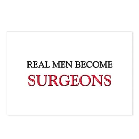 Real Men Become Surgeons Postcards (Package of 8)