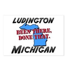 ludington michigan - been there, done that Postcar