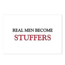 Real Men Become Stuffers Postcards (Package of 8)