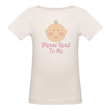 Baby Read Aloud Book Organic Baby T-Shirt