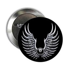 """Flying 8 2.25"""" Button (10 pack)"""