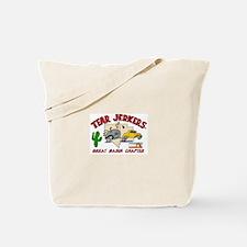 Funny Teardrop trailer Tote Bag