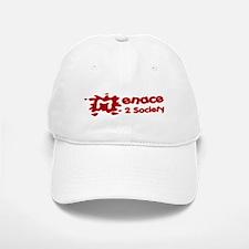 Menace to Society Baseball Baseball Cap