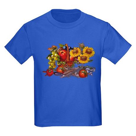 Play with Bacteria Kids Dark T-Shirt