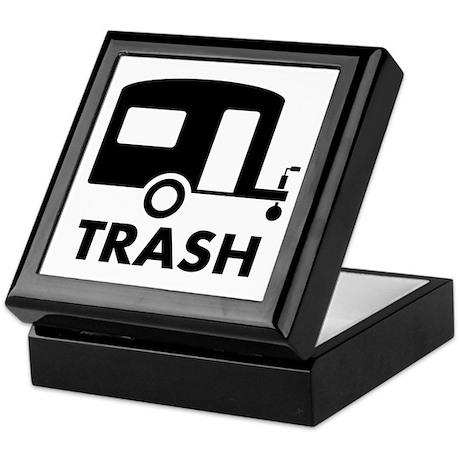 trailer trash Keepsake Box