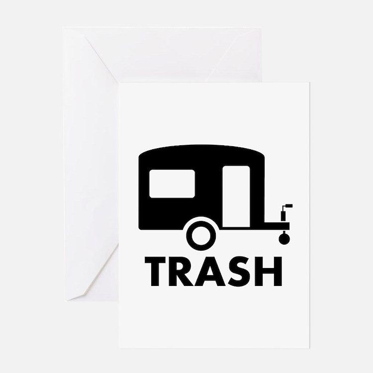 trailer trash Greeting Card