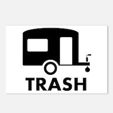 trailer trash Postcards (Package of 8)