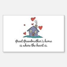 Great Grandmother's Home is Where the Heart Is Sti