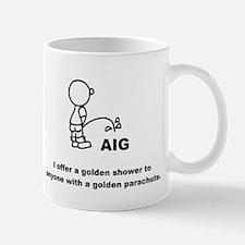 Piss on AIG Mug