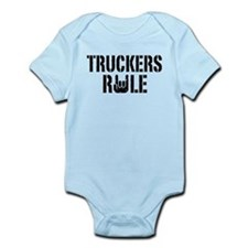 Truckers Rule Infant Bodysuit