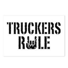 Truckers Rule Postcards (Package of 8)