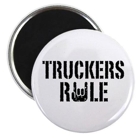 Truckers Rule Magnet
