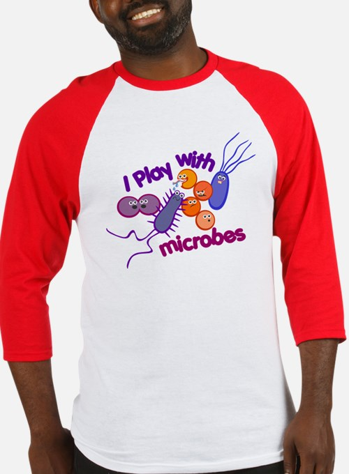 Play with Microbes Baseball Jersey