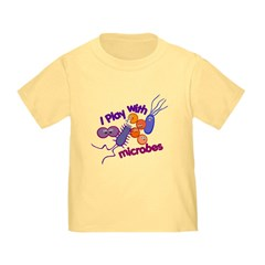 Play with Microbes Toddler T-Shirt