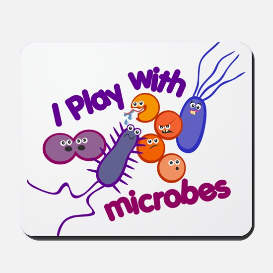 Play with Microbes Mousepad