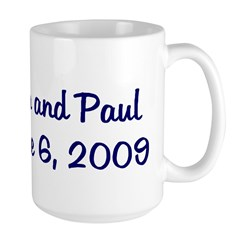 Jen and Paul June 6, 2009 Mug