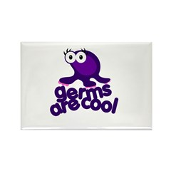 Germs are Cool Rectangle Magnet (10 pack)