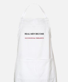 Real Men Become Occupational Therapists BBQ Apron