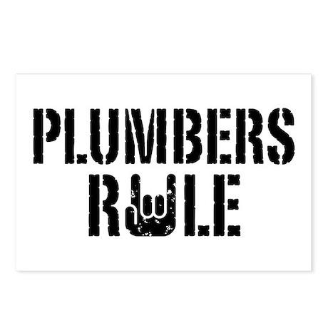 Plumbers Rule Postcards (Package of 8)