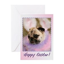 Fluffy Annie Easter Greeting Card